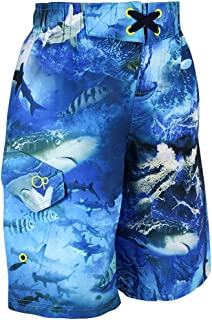 Boys Mesh Lined Swim Shorts