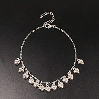 Jewelry Atmosphere Luxury Anklet Fresh and Sweet Love Anklet Atmosphere Luxury K031