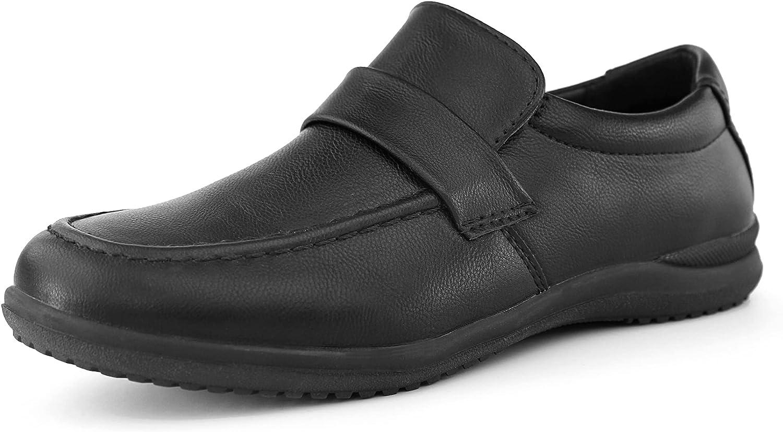 OUTVENTURE Boys School Uniform Comfort Dress Shoe (Little Kid/Big Kid)