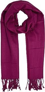 LYB Fashion Pashmina Shawl Warm Winter Soft Blanket Scarf Solid Color Wrap
