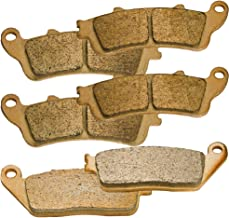 Front and Rear Sintered Brake Pads for Victory Vision Tour 2008 2009 2010 2011