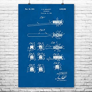 Patent Earth Toothbrush Poster Print, Dentist Gift, Dental Assistant, Hygienist Gift, Tooth Fairy, Bathroom Art, Oral Care Blueprint (24