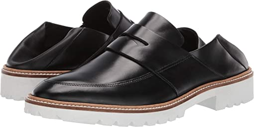 Black/Black Cow Leather/Cow Leather