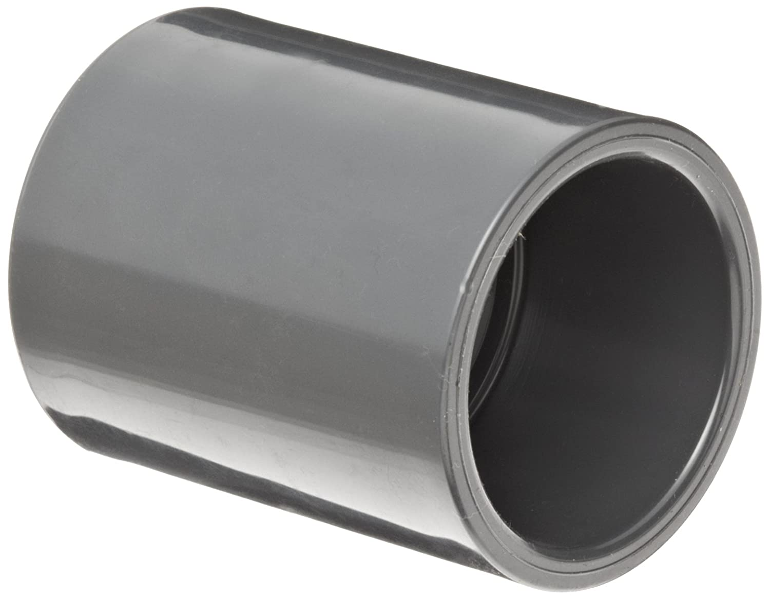 Schedule 80 Coupling 1-1//4 Socket Spears 829 Series PVC Pipe Fitting