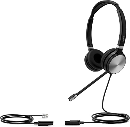 discount HWUSA online new arrival Yealink YHS36 Dual Wired Headset with RJ9 Cord Included sale