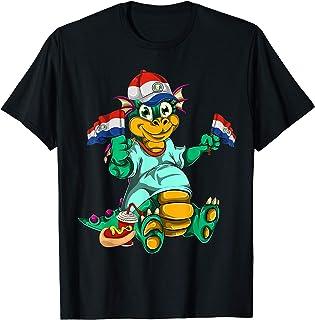 FanShirts4u Damen T-Shirt I Love Chile WM Trikot Liebe Herz Heart