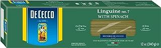 De Cecco Spinach Pasta, Linguine No.7, 12 Ounce