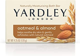 Yardley Oatmeal and Almond Bar Soap, 4.25 Ounce