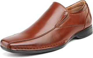 Bruno Marc Men's Giorgio Leather Lined Dress Loafers Shoes