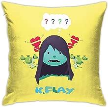 XINPULONG K.Flay Pillow Case Generalduty Casual Multicoloured Pillowcase Size 18 X 18 Inch