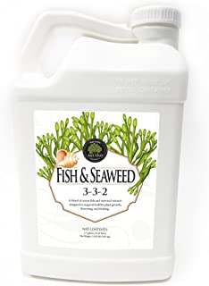 Liquid Fertilizer Age Old Fish and Seaweed, 2.5 Gallon Bottle