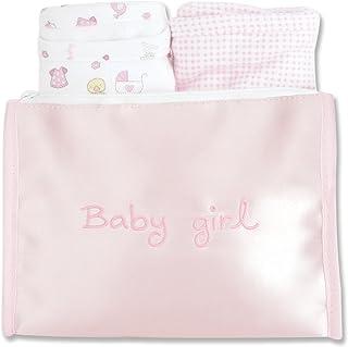 Trend Lab Bib and Burp Cloth Gift Set, Pink