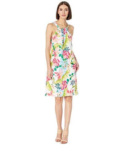 Tommy Bahama Lava Actually Halter Dress (White) Women