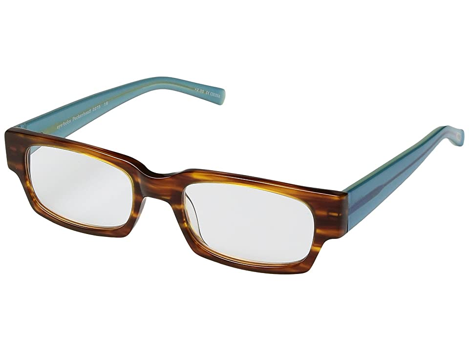 eyebobs Peckerhead Readers (Brown/Blue Crystal) Reading Glasses Sunglasses