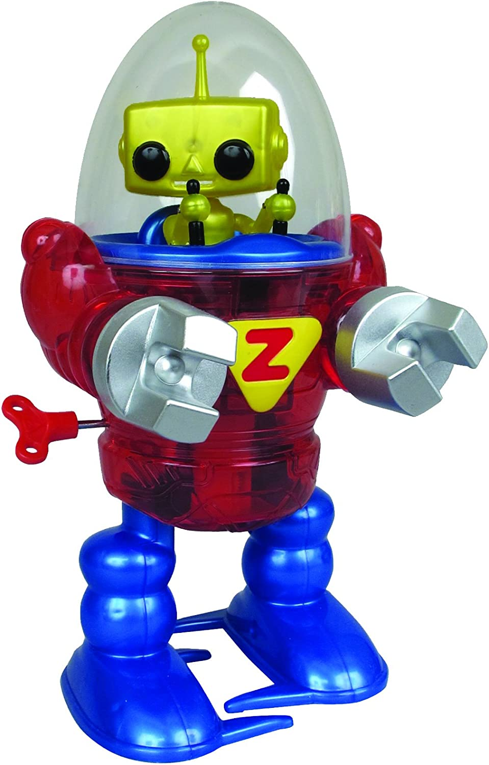 Toys  Z Wind Ups  Classic Robot, Merlin Kids Game New 79250