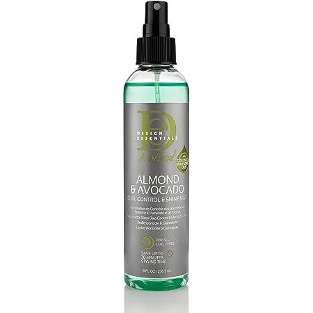 Design Essentials Almond Avocado Curl Control Spray, 8 Oz