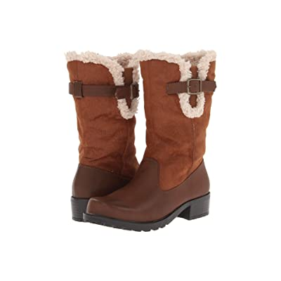 Trotters Blizzard III (Cognac Smooth Faux Leather) Women