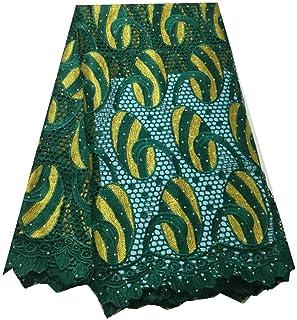 Tissu dentelle africaine Africain Français Net dentelle tissu africain Laces tissus brodés Nigerian guipure Français cordo...