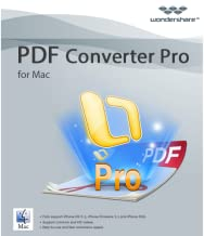 Wondershare PDF Converter Pro for Mac-Convert scanned PDFs to editable text [Download]
