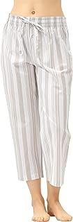 ladies cotton cropped pyjama bottoms