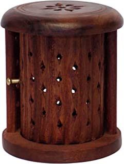 Chritmas Gift/Chritmas Sale Crafts'man Shutter Wooden Cone (Dhoop) Incense Holder