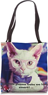 Do these glasses make me look smart? Tote Bag