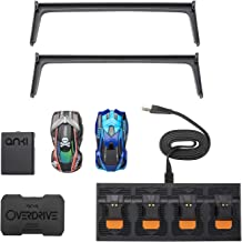 Anki Overdrive Starter Kit 2 A.I. Driven Cars + Charging Stand + Track (Renewed)