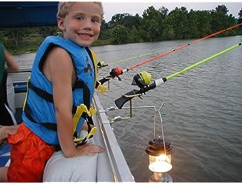 Aquantic Rails Organizer Rails Bag Rod Holder Boat Bait Accessories Fishing M L