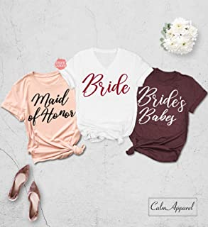 d436a818734d Bachelorette Party Shirt, Bridesmaid Shirts, Wedding Proposal Shirts, Bride  Squad Tank Tops,