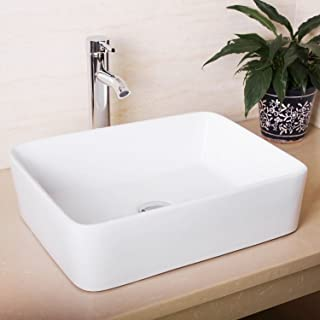 Amazon.fr : vasque de salle de bain rectangulaire