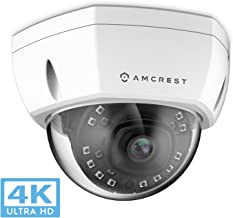 Amcrest UltraHD 4K (8MP) Outdoor Security POE IP Camera, 3840×2160, 98ft..