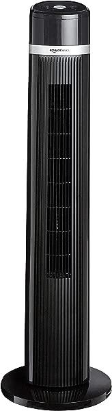 AmazonBasics 振荡 3 速塔式风扇带遥控器