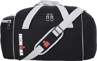 21 Inch Lightweight Foldable Sport Travel Size Retro Duffel Gym Bag - Black