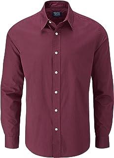 comprar comparacion Charles Wilson Camisa Manga Larga Popelina Lisa para Hombre