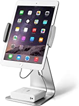 UPERGO Tablet Stand for 7~13inch Tablet, 360degree Rotating iPad Pro Stand Holder, Aluminum Tablet Mount Holder for iPad Pro Air Mini Galaxy Tab Nexus, Desktop Stand for Office Kitchen Living Room