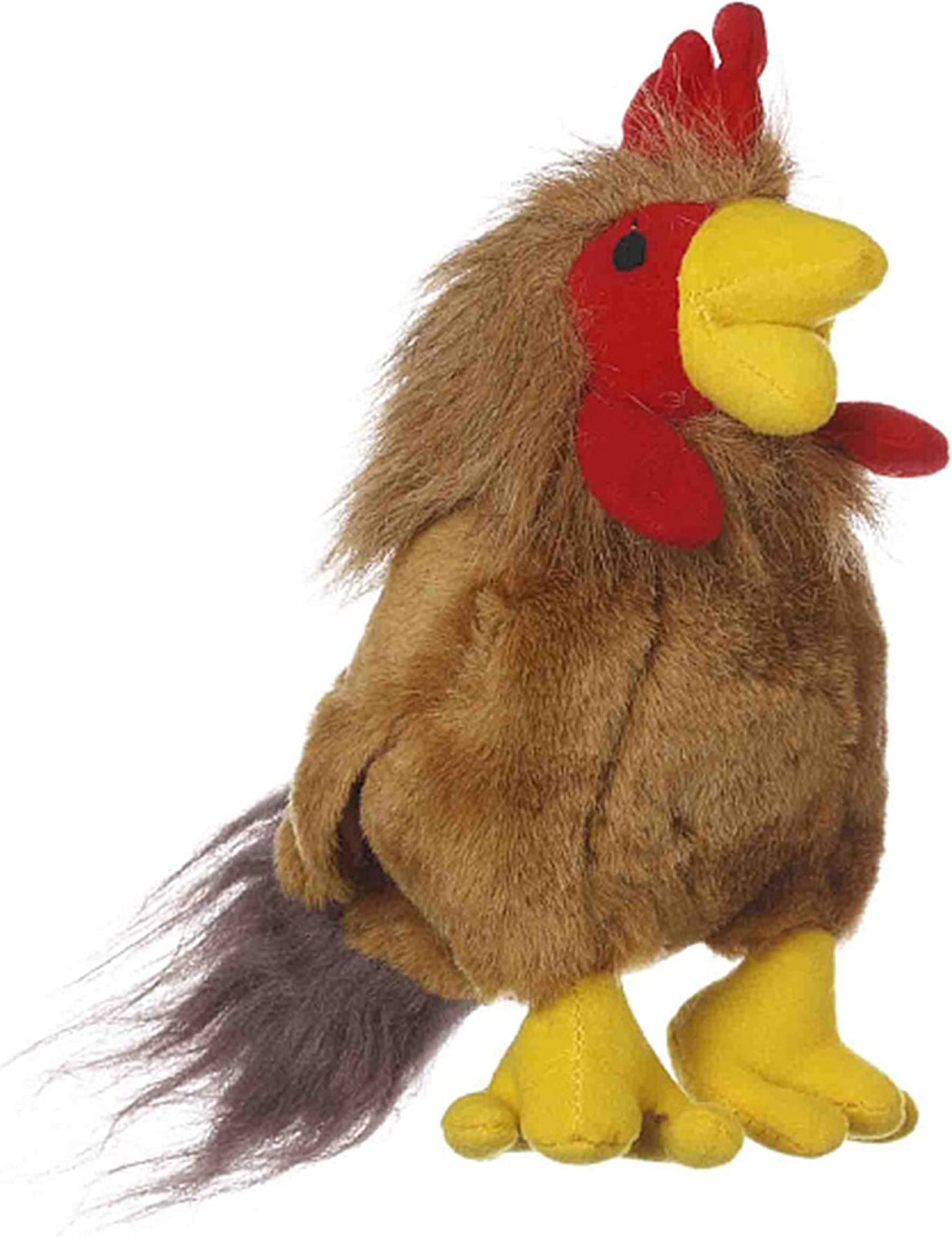 Multipet Look Who's Talking Dog Toy, Rooster