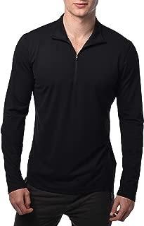 Ultra Soft Half Zip Long Sleeve Shirt for Men