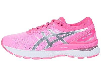 ASICS GEL-Nimbus(r) 22 (Hot Pink/Pure Silver) Women