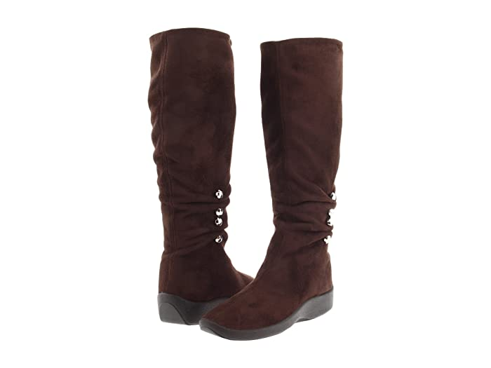 Arcopedico  Liana (Brown Faux Suede) Womens  Boots
