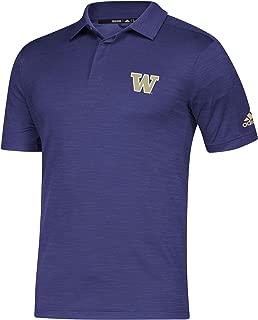 NCAA Washington Huskies Mens Game Mode Polo, Purple, X-Large