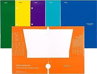 Mead Five Star 4 Pocket Paper Folder 33106 (Pack of 6 Folders)