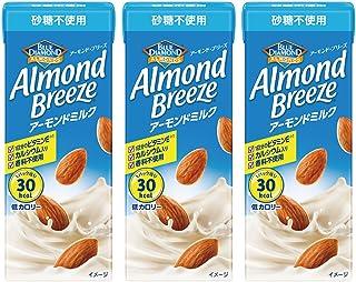 アーモンド・ブリーズ 砂糖不使用 200ml×3本