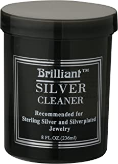8 Oz Silver Jewelry Cleaner with Cleaning Basket