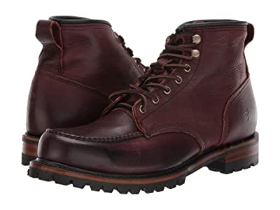 Frye Penn Lug Moc Workboot (Oxblood Oiled Vintage) Men