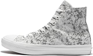 Converse Unisex Adults' Chuck Taylor All Star Ii Reflective Camo Hi-Top Sneakers (9 M US Women / 7 M US Men, White/Pure Silver/White)
