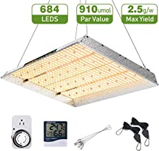 MARS HYDRO TSW 2000W Led Grow Light 4x4 Coverage Full Spectrum Grow Lamps for Indoor Plants Veg Bloom with Updated LED White Growing Light with Timer