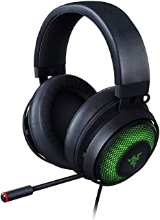Razer RZ04-03180100-R3M1 Kraken Ultimate RGB USB Gaming Headset With THX 7.1 Spatial Surround Sound - Chroma RGB Lighting ...