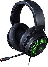 Razer Kraken Ultimate – Fone de ouvido USB para jogos (fones de ouvido para PC, PS4 e Switch Dock com som surround e micro...