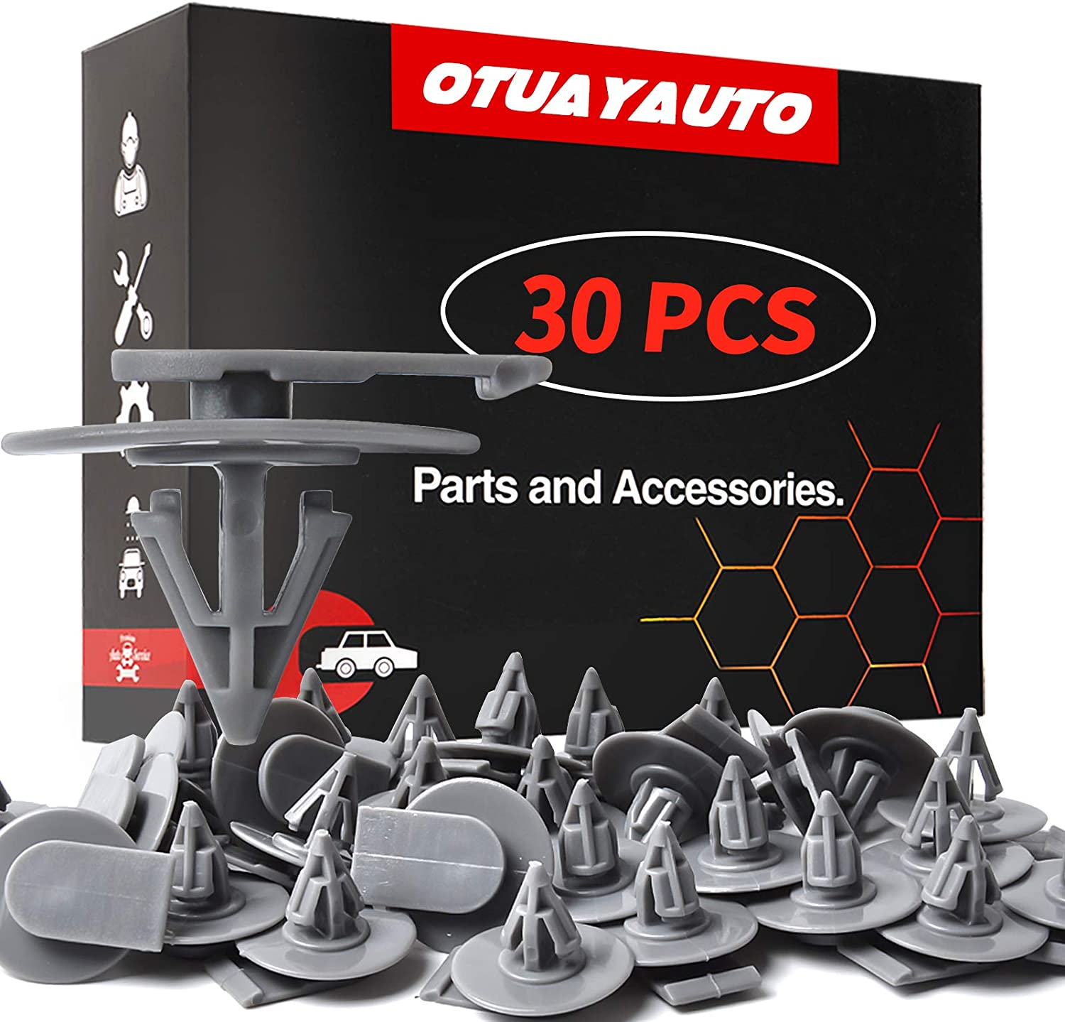 OTUAYAUTO 30PCS Wheel Arch Clips Replacement for Year-end gift Mini free - Cooper F