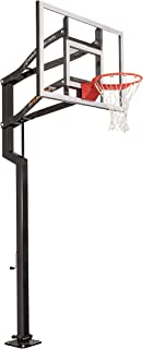 Goalsetter Contender In Ground Adjustable Basketball Hoop System with 54-Inch Acrylic Backboard - Multiple Rim Options